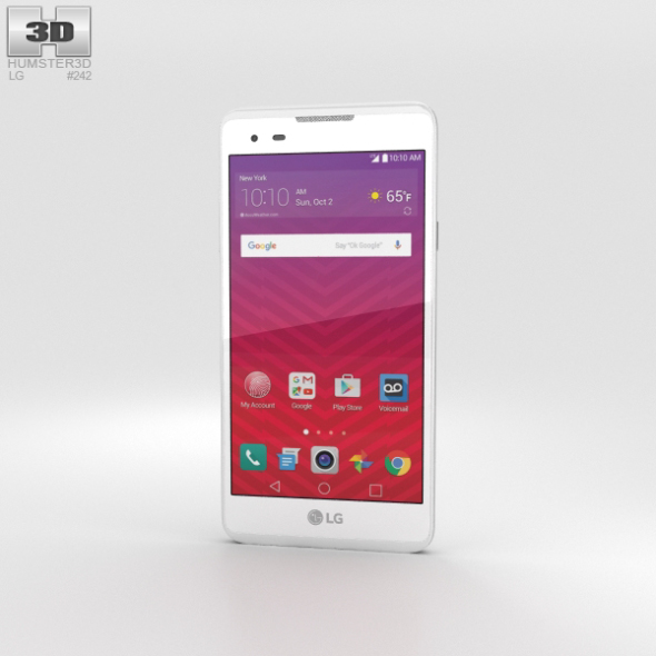 LG Tribute HD White