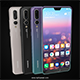 "Huawei P20 Pro "" 3 Colors "" - 3DOcean Item for Sale"