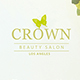Free Download Crown Beauty Salon Flyer Template Nulled