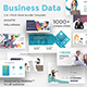 Free Download Business Data 3 in 1 Pitch Deck Bundle Powerpoint Template Nulled