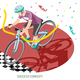 Winner Rider Success Concept - GraphicRiver Item for Sale
