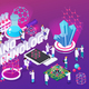 Nanotechnology Isometric Composition - GraphicRiver Item for Sale