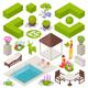Landscape Design Set - GraphicRiver Item for Sale