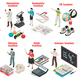 Teachers And School  Isometric Set - GraphicRiver Item for Sale