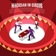 Circus Magicians Isometric Background - GraphicRiver Item for Sale