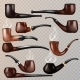 Tobacco Pipe Vectors - GraphicRiver Item for Sale