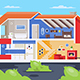 House Sections - GraphicRiver Item for Sale