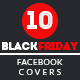 10 Black Friday Sale Facebook Cover - GraphicRiver Item for Sale