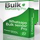 WMBSP: Whatsapp Marketing Bulk Sender Pro - CodeCanyon Item for Sale