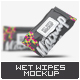Wet Wipes Mock-Up - GraphicRiver Item for Sale