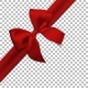 Realistic Red Bow and Ribbon Isolated - GraphicRiver Item for Sale