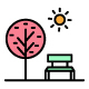 Free Download 130 Nature and Park Vector Icons Pack Nulled