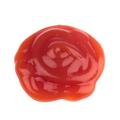 round shape of tomato sauce on white - PhotoDune Item for Sale