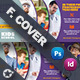 Free Download Kids School Cover Templates Nulled