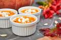 Cream of pumpkin soup or souffle. Thanksgiving Day. - PhotoDune Item for Sale
