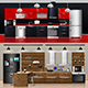 Modern Kitchen Interiors - GraphicRiver Item for Sale