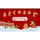 Christmas Scenery Background - GraphicRiver Item for Sale