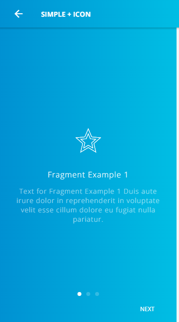 ionic 3 ui theme template app material design blue light by