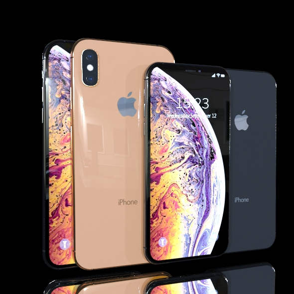 iPhone XS Collection - 3DOcean Item for Sale