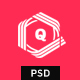 Free Download Qur - Personal CV/Resume PSD Template Nulled