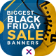 Free Download Black Friday Sale Web Banner Set Nulled