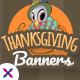 Free Download Thanksgiving Web Banner Set Nulled
