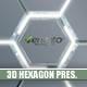 Futuristic 3D Hexagon Presentation - VideoHive Item for Sale