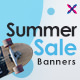 Free Download Seasonal Sale Web Banner Set Nulled