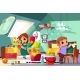 Kids Cleaning in Their Room Cartoon Vector - GraphicRiver Item for Sale