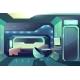 Spacecraft Crew Member Cabin Interior Vector - GraphicRiver Item for Sale