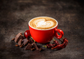 Coffee cup with chili peppers - PhotoDune Item for Sale