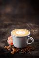 Fresh coffee in a white cup - PhotoDune Item for Sale