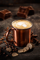 Truffle and chocolate flavored coffee latte - PhotoDune Item for Sale