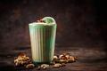 Affogato with pistachio ice cream - PhotoDune Item for Sale