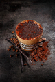 Coffee spiced with cocoa powder and vanilla - PhotoDune Item for Sale