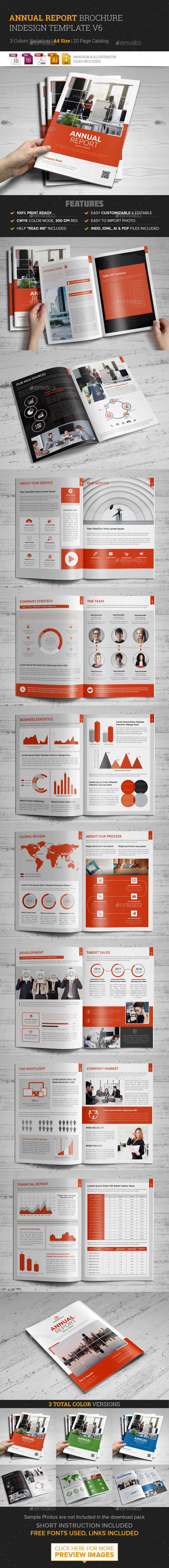 Annual Report Brochure design 6 - Corporate Brochures