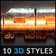 10 3D Styles vol. 13 - GraphicRiver Item for Sale