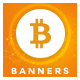 Bitcoin Web Banner Set - GraphicRiver Item for Sale