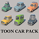 Toon Cars Pack - 6 Pieces - 3DOcean Item for Sale
