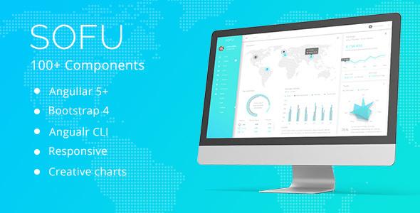 Sofu - Angular 7 & Bootstrap 4 Admin Template
