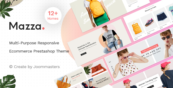 Mazza - Multi-purpose Creative Prestashop Theme