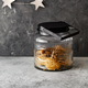 Large glass jar with cookies on the table - PhotoDune Item for Sale