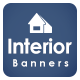 Free Download Interior Web Banner Set Nulled