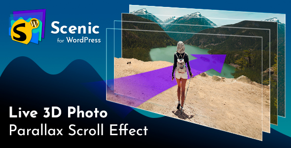 Scenic 3D Photo Parallax WordPress Plugin            Nulled