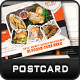 Free Download Restaurant Postcard Nulled