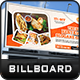 Restaurant Billboard - GraphicRiver Item for Sale