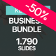 Business Bundle Keynote Template 2 in 1 - GraphicRiver Item for Sale