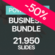 Business Bundle PowerPoint Template 2 in 1 - GraphicRiver Item for Sale