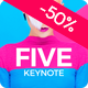 Five - Keynote Presentation Template - GraphicRiver Item for Sale