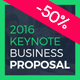 Business Proposal 2016 Keynote Presentation Template - GraphicRiver Item for Sale